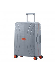 American Tourister Lock'n'roll Spinner 55 Volt Grey Harde Koffer afbeelding
