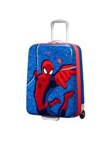 American Tourister New Wonder Hard Upright 55 Marvel Spiderman Web Harde Koffer afbeelding
