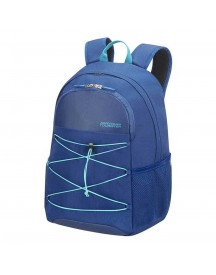American Tourister Road Quest Laptop Backpack M 15.6'' Deep Water Blue afbeelding