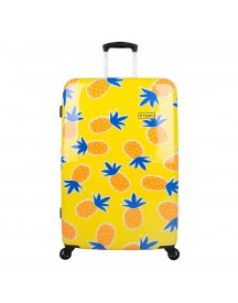 Bhppy Home Sweet Pineapple Trolley 77 Yellow Harde Koffer afbeelding
