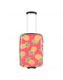 Bhppy Pretty Pineapple Trolley 55 Roze Harde Koffer afbeelding