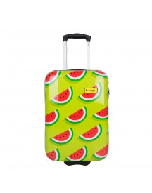 Bhppy Two In A Melon Trolley 55 Green / Red Harde Koffer afbeelding