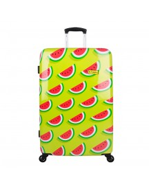 Bhppy Two In A Melon Trolley 77 Green / Red Harde Koffer afbeelding