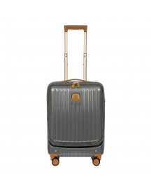 Bric's Capri Trolley 55 With Pocket Grey Harde Koffer afbeelding