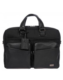 Bric's Monza Briefcase 1 Compartment Black afbeelding
