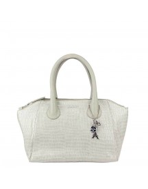 By Loulou Crocodilian Medium Bag Amiento afbeelding