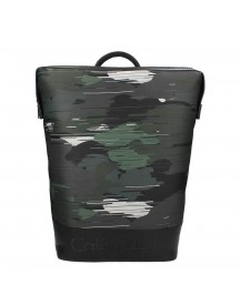 Calvin Klein Caillou Backpack Speed Camo Burnt Ivy afbeelding