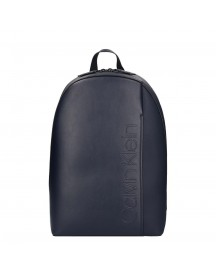 Calvin Klein Elevated Logo Round Backpack Nightscape afbeelding