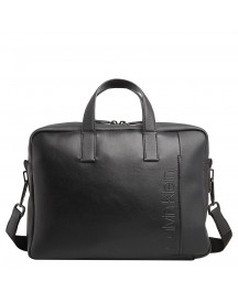 Calvin Klein Elevated Logo Slim Laptopbag Black afbeelding