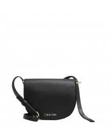 Calvin Klein Neat Medium Saddle Black afbeelding