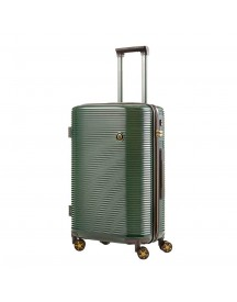 Carryon Bling Bling Trolley 66 Green Gold Harde Koffer afbeelding