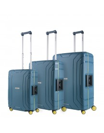 Carryon Steward Trolleyset 3pc Ice Blue afbeelding