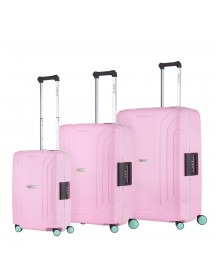 Carryon Steward Trolleyset 3pc Light Pink afbeelding