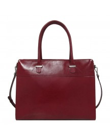 Claudio Ferrici Classico Businessbag 15.6'' Red afbeelding