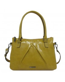 Claudio Ferrici Pelle Vecchia Shoulder Bag Sunflower afbeelding
