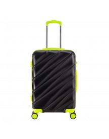 Decent Lumi-fix Trolley 66 Black / Lemon Harde Koffer afbeelding