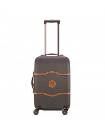 Delsey Chatelet Air 4 Wheel Trolley 55 Chocolate Harde Koffer afbeelding