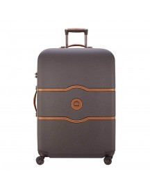 Delsey Chatelet Air 4 Wheel Trolley 77 Chocolate Harde Koffer afbeelding