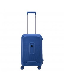 Delsey Moncey 4 Wheels Cabin Trolley 55 Blue Harde Koffer afbeelding