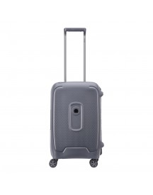 Delsey Moncey 4 Wheels Cabin Trolley 55 Grey Harde Koffer afbeelding