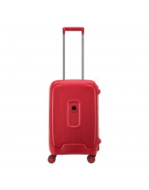 Delsey Moncey 4 Wheels Cabin Trolley 55 Red Stars Harde Koffer afbeelding