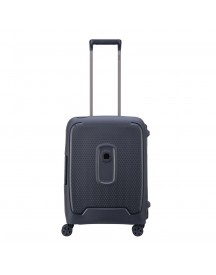 Delsey Moncey 4 Wheels Slim Cabin Trolley 55 Anthracite Harde Koffer afbeelding