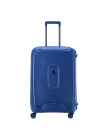 Delsey Moncey 4 Wheels Trolley 69 Blue Harde Koffer afbeelding
