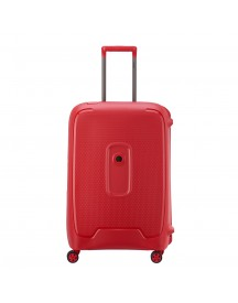 Delsey Moncey 4 Wheels Trolley 69 Red Stars Harde Koffer afbeelding