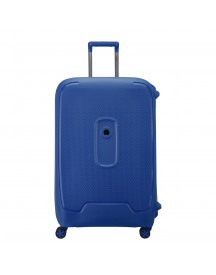 Delsey Moncey 4 Wheels Trolley 76 Blue Harde Koffer afbeelding