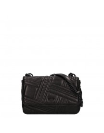 Dkny Allen Medium Flap Shoulderbag Black / Black afbeelding