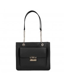 Dkny Ann Medium Tote Black / Gold afbeelding