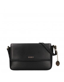 Dkny Bryant Medium Flap Crossbody Black afbeelding
