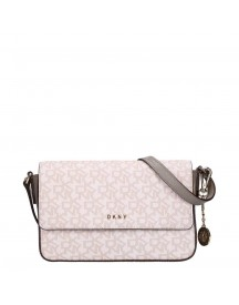 Dkny Bryant Medium Flap Crossbody Clay afbeelding