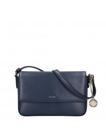 Dkny Bryant Medium Flap Crossbody Navy afbeelding