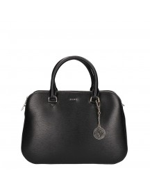 Dkny Bryant Medium Satchel Black / Gold afbeelding