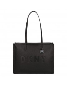 Dkny Commuter Medium Tote Black / Silver afbeelding