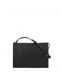 Dkny Commuter Zip Crossbody Black / Silver afbeelding
