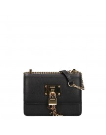 Dkny Elissa Flap Crossbody Black / Gold afbeelding