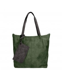 Emily & Noah Bag In Bag Surprise Cityshopper Green / Black afbeelding