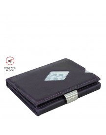 Exentri Leather Wallet Rfid Purple Haze afbeelding