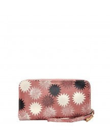 Fabienne Chapot Fc Logo Purse Printed Starbust Print Vintage Blush afbeelding