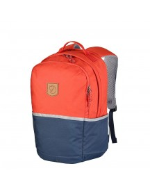 Fjallraven High Coast Kids Rugzak Flame Orange-navy Kindertas afbeelding