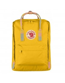 Fjallraven Kanken Rugzak Warm Yellow / Random Blocked afbeelding