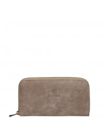 Fred De La Bretoniere Hand Buffed Leather Wallet Medium Light Taupe afbeelding