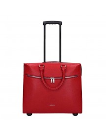 Gigi Fratelli Romance Lady Business Trolley 15.6'' Red Zachte Koffer afbeelding