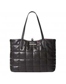 Guess Bobbi Inside Out Tote Black / Red afbeelding