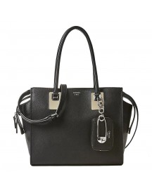 Guess Gabi Girlfriend Satchel Black afbeelding