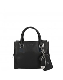 Guess Gabi Small Society Satchel Black afbeelding