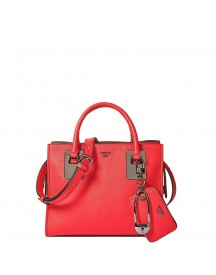 Guess Gabi Small Society Satchel Red afbeelding