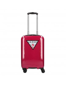 Guess Icon Triangle Trolley 55 Magenta Harde Koffer afbeelding